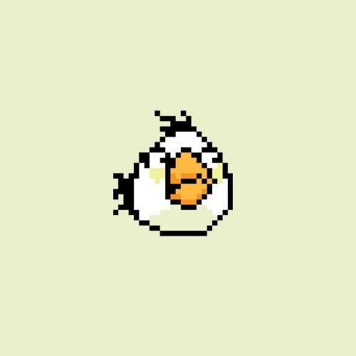 Angry birds pixel art, πως θα ήταν οι χαρακτήρες