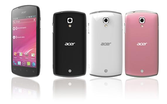 Acer Liquid Glow, Με οθόνη 3.7 ίντσες και Android Ice Cream Sandwich