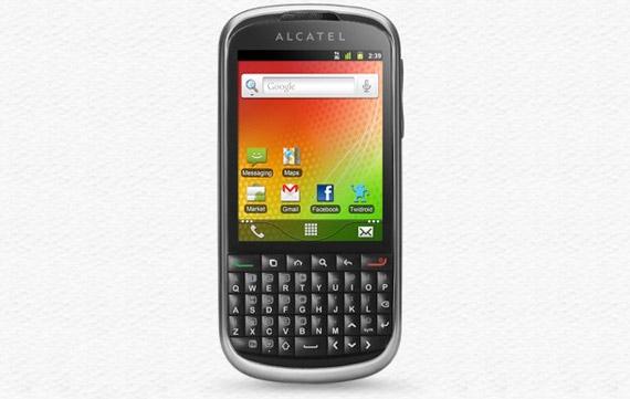 Alcatel OT915, Με οθόνη 2.8 ίντσες και πλήρες QWERTY πληκτρολόγιο