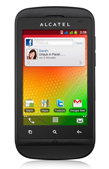 Alcatel OT-918D, Δίκαρτο Android κυκλοφόρησε στη WIND με τιμή 119 ευρώ