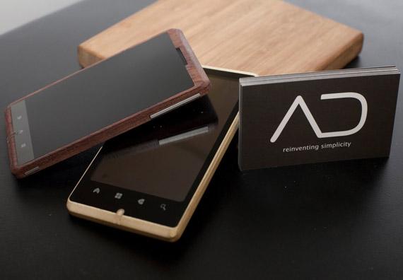 ADzero, Ξύλινο Android smartphone [concept]
