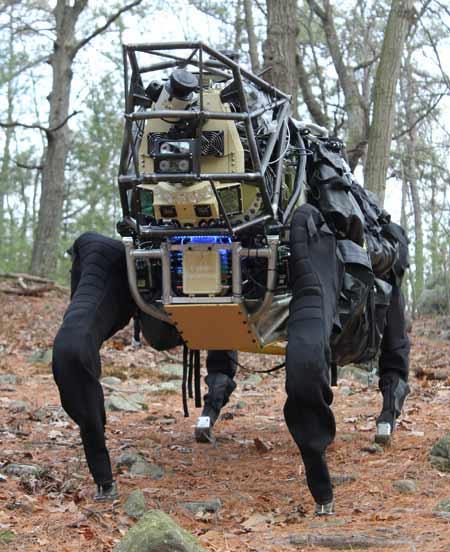 DARPA, Αυτόνομο τετράποδο ρομπότ [video]
