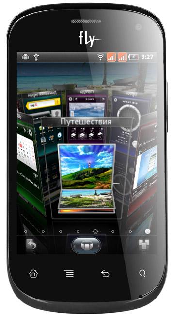 Fly Firebird, Android smartphone με δύο κάρτες SIM για τη Ρωσία