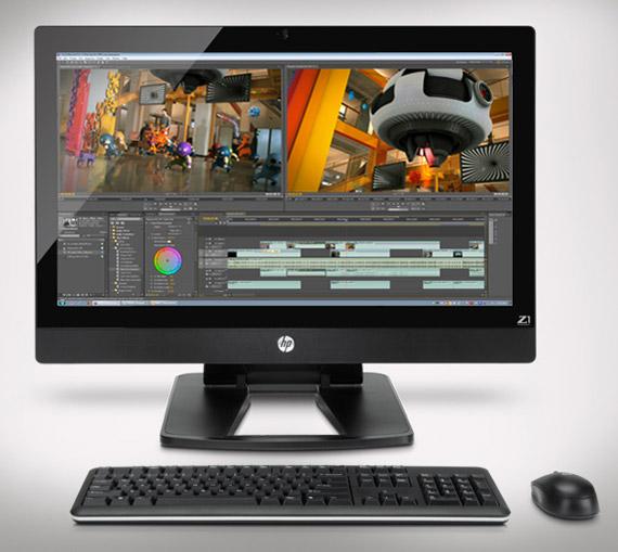 HP Z1, Όλα σε ένα workstation με οθόνη 27 ιντσών