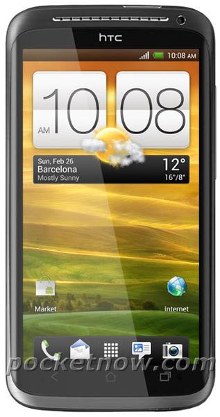 HTC One X, Πρώτη επίσημη φωτογραφία
