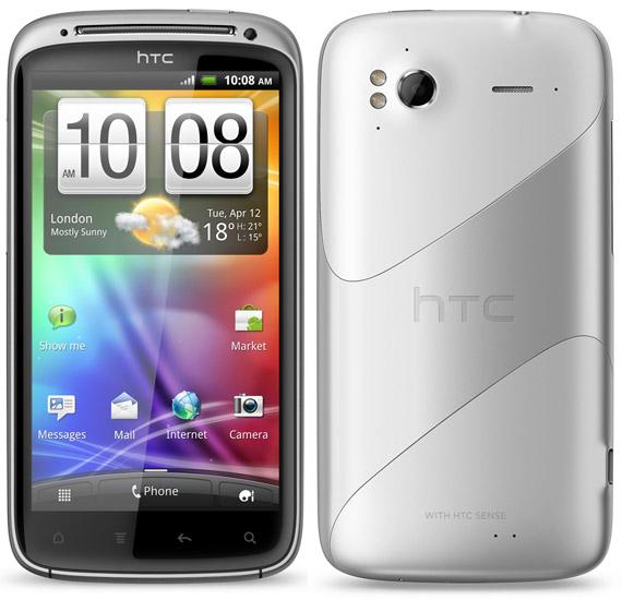HTC Sensation λευκό, Κυκλοφορεί 1 Μαρτίου με Ice Cream Sandwich