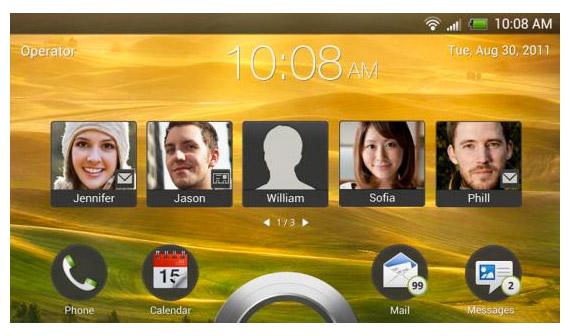 HTC Sense 4.0, Πρώτη γεύση μέσα από το HTC Endeavor