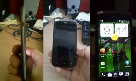 HTC Ville, Πρώτη εμφάνιση σε βίντεο