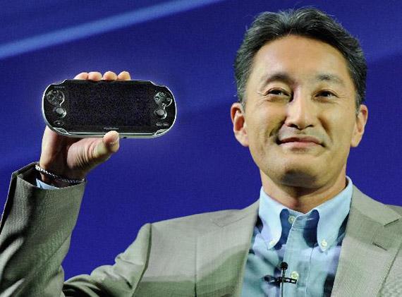 Πρόεδρος και CEO της Sony ο Kazuo Hirai προερχόμενος από το τμήμα PlayStation