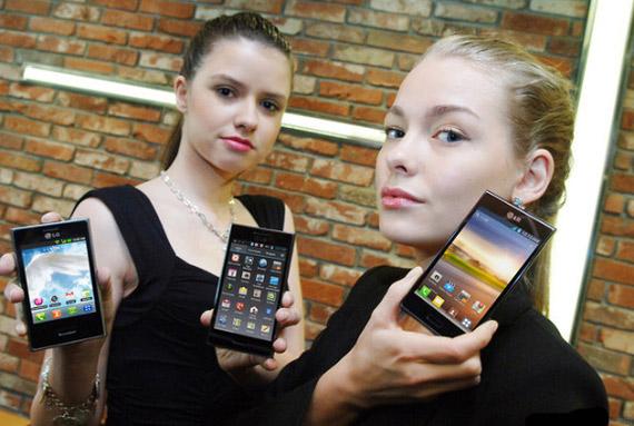 LG Optimus L7, Με οθόνη 4.3 ίντσες και Android Ice Cream Sandwich
