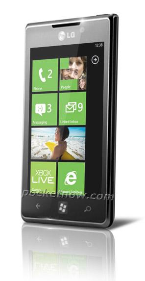 LG Miracle, Windows Phone smartphone με οθόνη NOVA 4 ιντσών