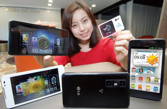 LG Optimus 3D Cube, Το επόμενο 3D smartphone με NFC
