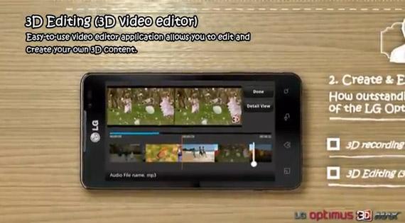 LG Optimus 3D Max, Βίντεο με τα 3 κυριότερα χαρακτηριστικά του