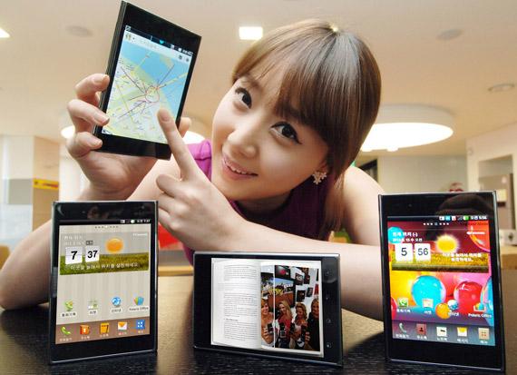 LG Optimus Vu, Επίσημα με τεχνικά χαρακτηριστικά και φωτογραφίες