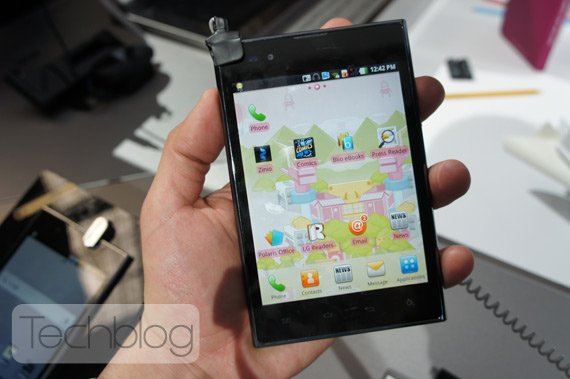 LG Optimus Vu, Φωτογραφίες hands-on