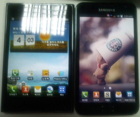 LG Optimus Vu, Το πρώτο tabletόφωνο της LG πλάι στο Galaxy Note