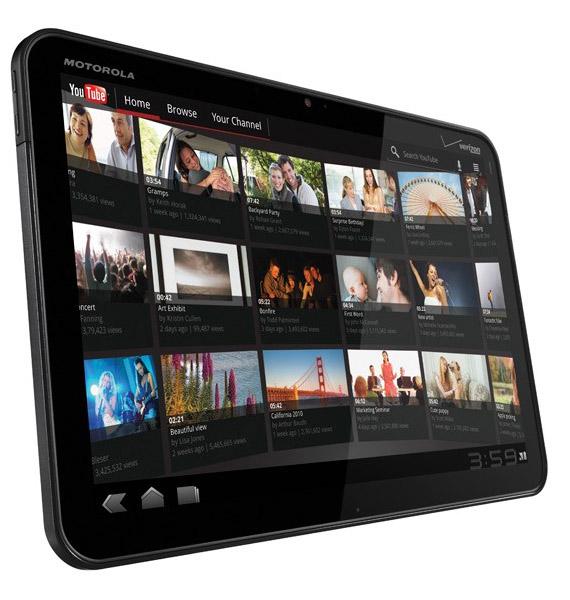 Motorola Xoom, Επανακατασκευασμένα tablets με τα στοιχεία του πρώτου κατόχου