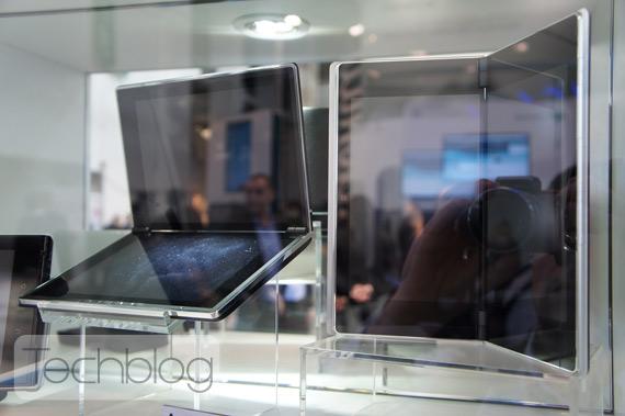 NEC MEDIAS concept smartphones και tablets [MWC 2012]