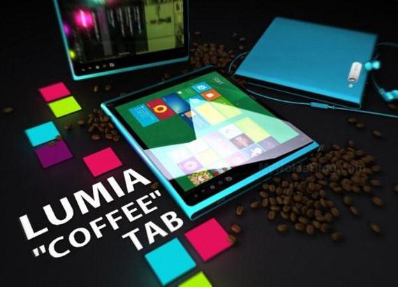 Nokia Lumia Coffee Tab, Θυμίζει τεράστιο iPod nano [concept]