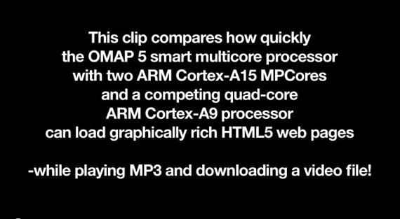 TI OMAP 5 Dual-core 800MHz εναντίον NVIDIA Tegra 3 Quad-Core 1.3GHz