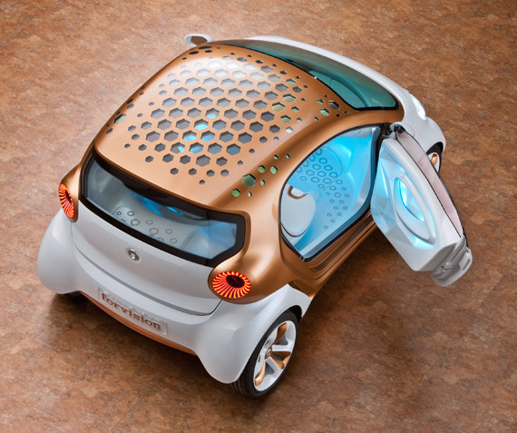 Smart ForVision, Σε συνεργασία με Philips και BASF [concept car]