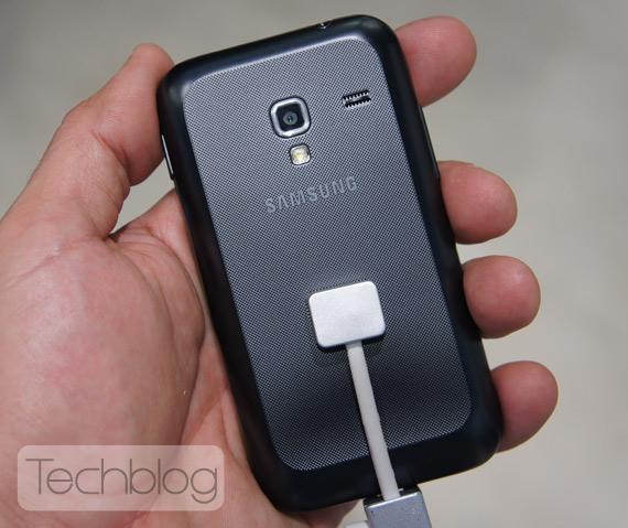 Samsung Galaxy Ace Plus ελληνικό βίντεο παρουσίαση [MWC 2012]