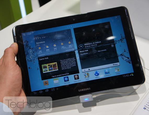 Samsung Galaxy Note 10.1 ελληνικό βίντεο παρουσίαση [MWC 2012]