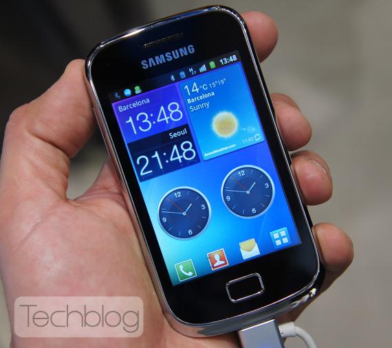 Samsung Galaxy mini 2 ελληνικό βίντεο παρουσίαση [MWC 2012]