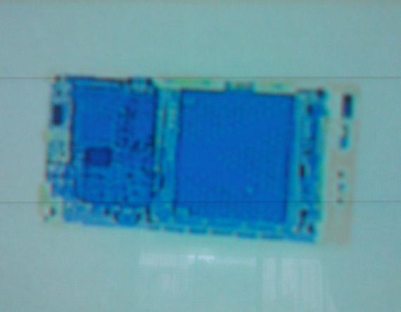 Sony Xperia S, Ακτινογραφία
