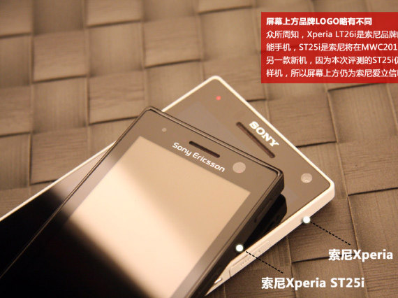 Sony Xperia U, Φωτογραφίες πλάι στο μεγάλο Xperia S