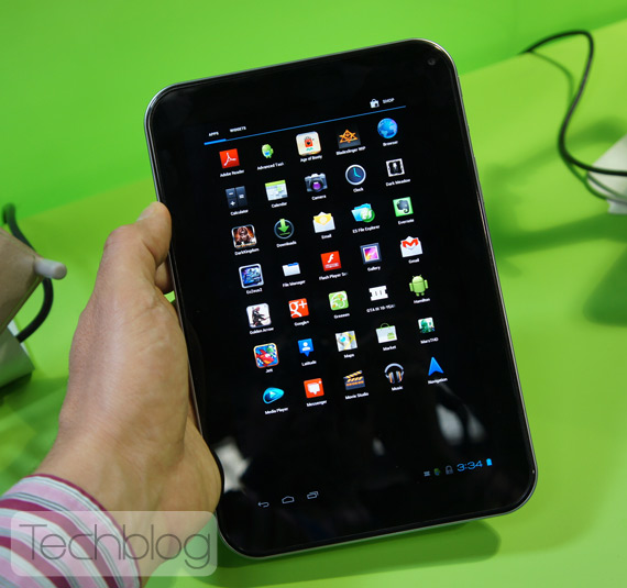 Toshiba AT270, Τετραπύρηνο tablet με οθόνη Super AMOLED [hands-on]