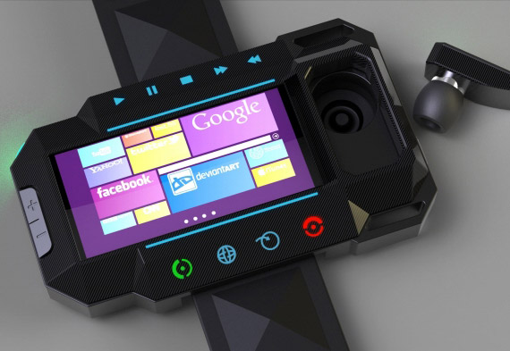 Windows Phone concept ρολόι χειρός, Για τον Dick Tracy του 2015