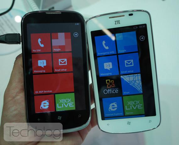 ZTE Orbit, Με Windows Phone και οθόνη 4 ίντσες