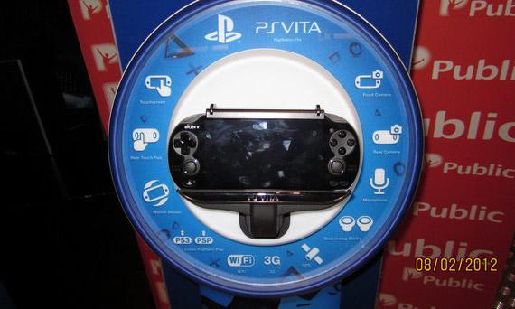 Πρώτη επαφή με το PlayStation Vita στα Public