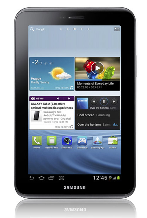 Samsung Galaxy Tab 2, 7άρι Android Ice Cream Sandwich tablet