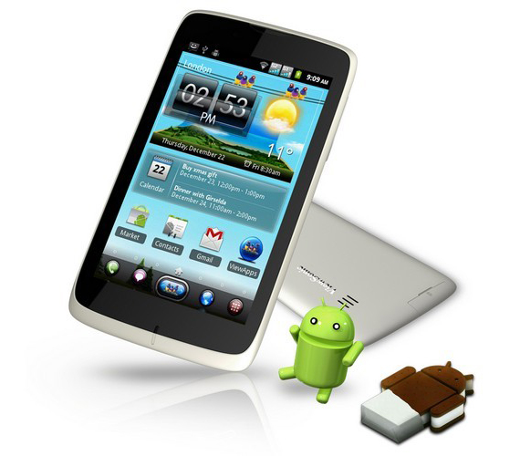 Viewsonic WiewPhone 5e, Με οθόνη 5 ιντσών και Ice Cream Sandwich