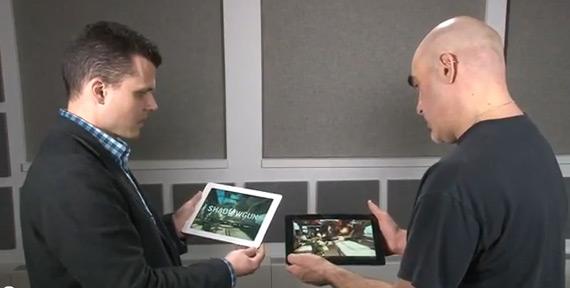 Νέο iPad (A5X) εναντίον Transformer Prime (Tegra 3), Κόντρα στα γραφικά