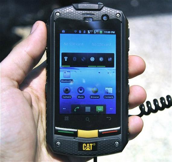 Caterpillar CAT B10, Ανθεκτικό Android smartphone