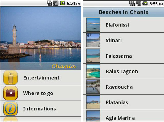 Chania travel guide για Android συσκευές [Έλληνες developers]