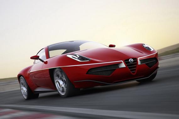 Alfa Romeo Disco Volante 2012, O