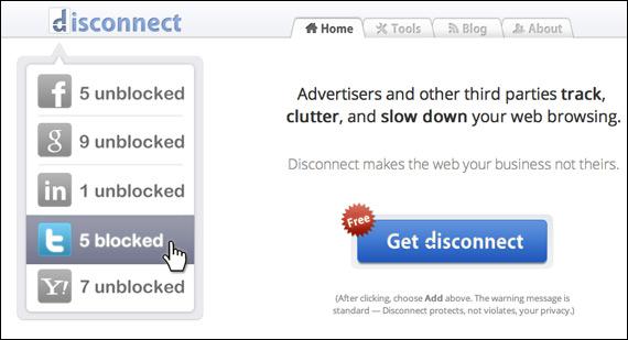 Disconnect.me, Μπείτε ασφαλώς και χωρίς tracking σε όλα τα social media