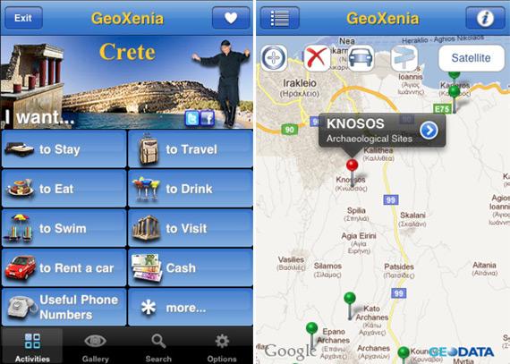 Geoxenia Crete για iOS συσκευές [Έλληνες developers]