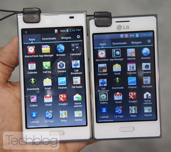 LG Optimus L5 φωτογραφίες hands-on