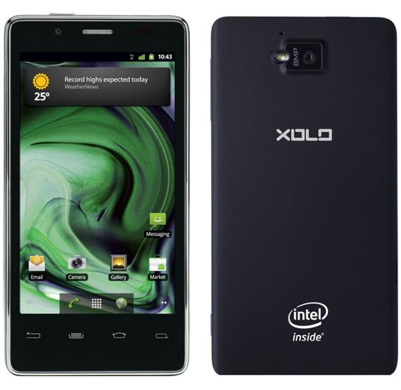 Lava XOLO X900, Με Android και επεξεργαστή Intel Medfield