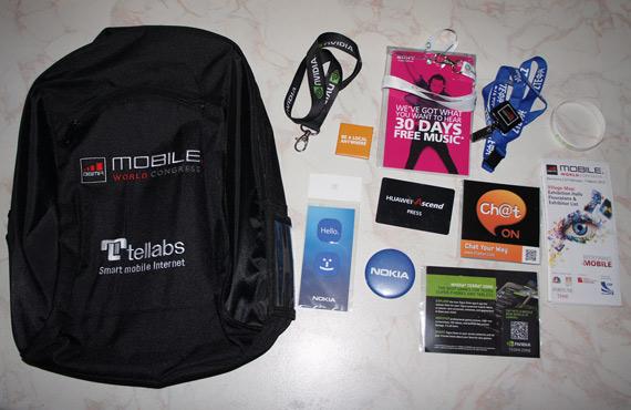 MWC 2012, Κερδίστε Goodie Bag με καλούδια!