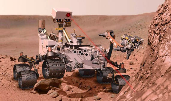 To Curiosity rover της NASA μας στέλνει μηνύματα στο Twitter