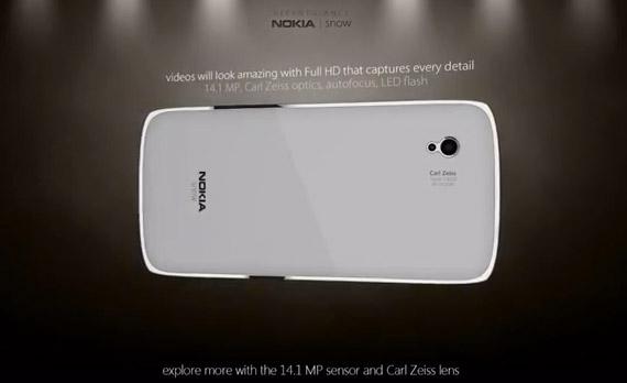 Nokia Snow, Windows Phone concept