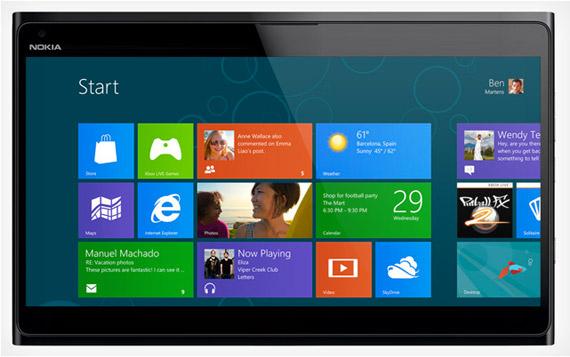 Nokia Windows 8 tablet με οθόνη 10 ίντσες και τετραπύρηνο επεξεργαστή [φήμες]