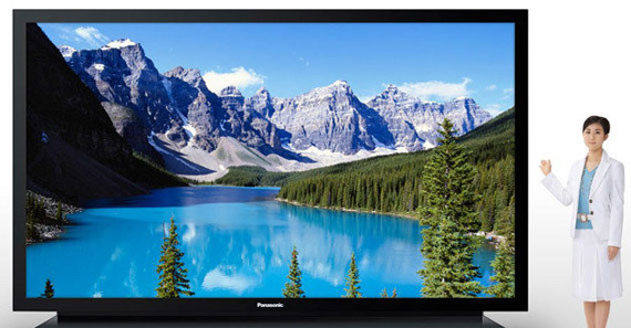 Panasonic TH-152UX1W, Τηλεόραση Plasma 152 ιντσών με τιμή 1 εκ. δολάρια Αμερικής