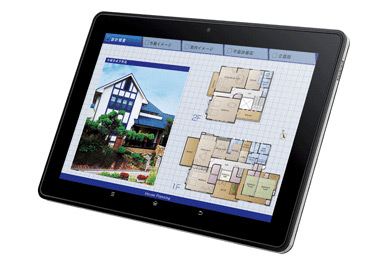 SHARP RW-T110 Android tablet